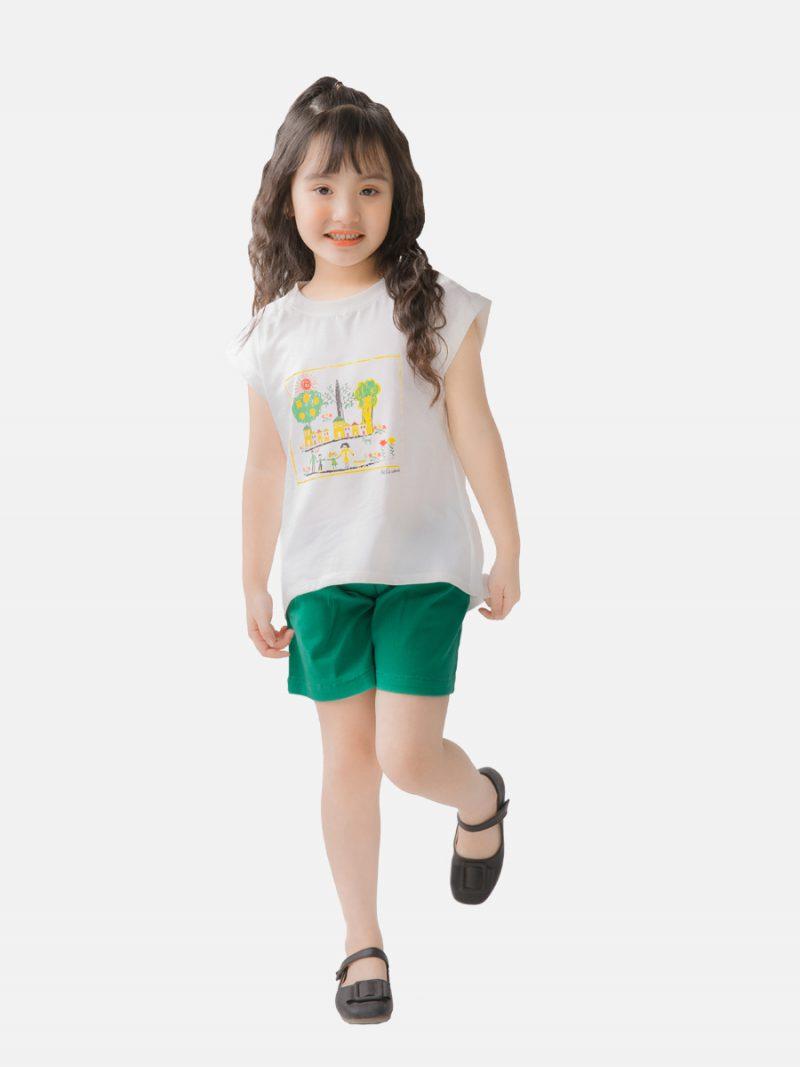 Áo phông bé gái K84GSS20