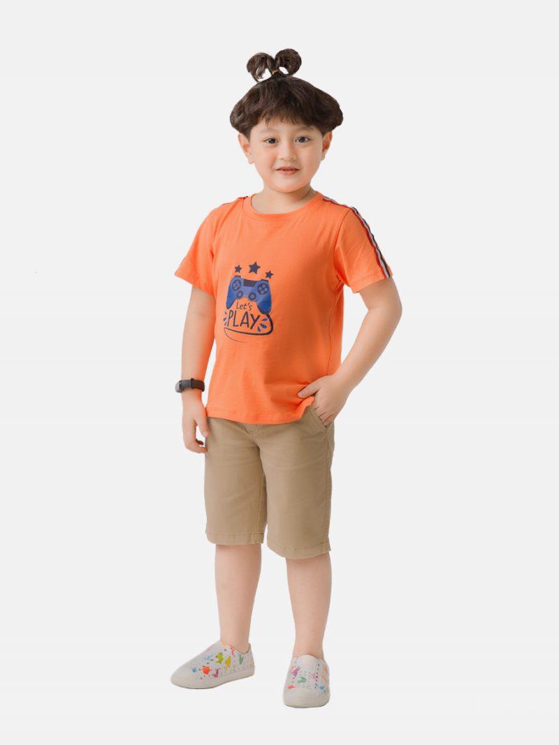 Áo phông bé trai K118BSS20