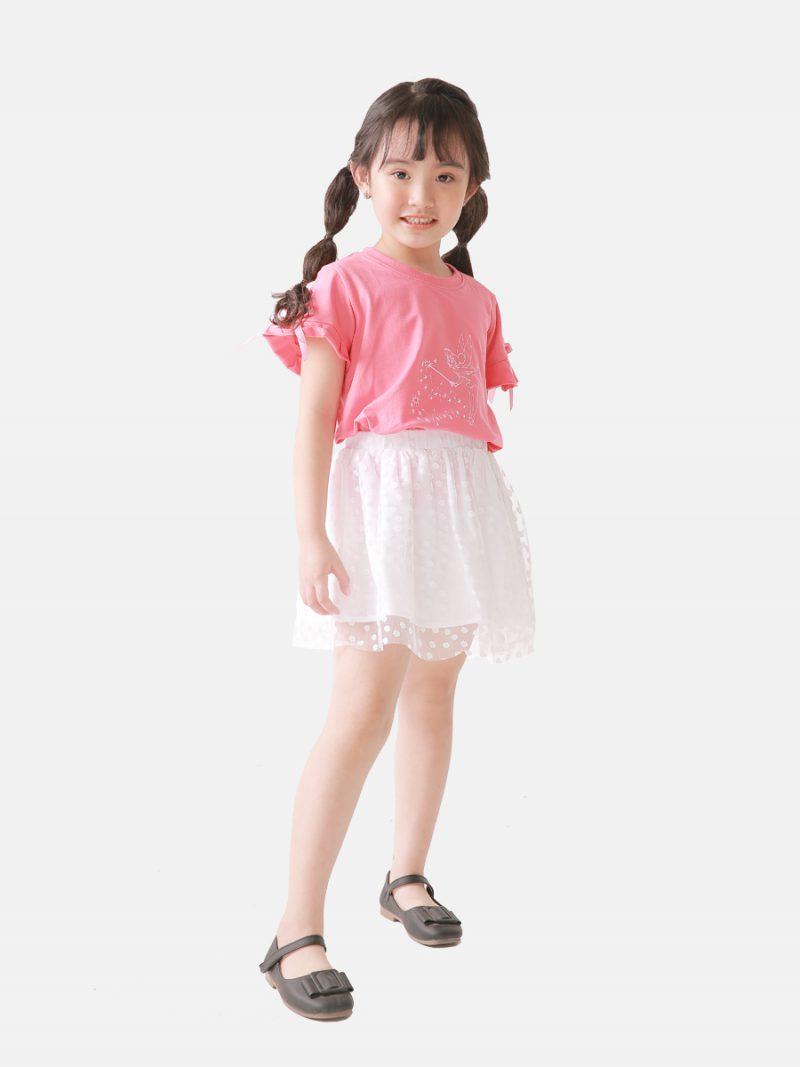Áo phông bé gái K89GSS20
