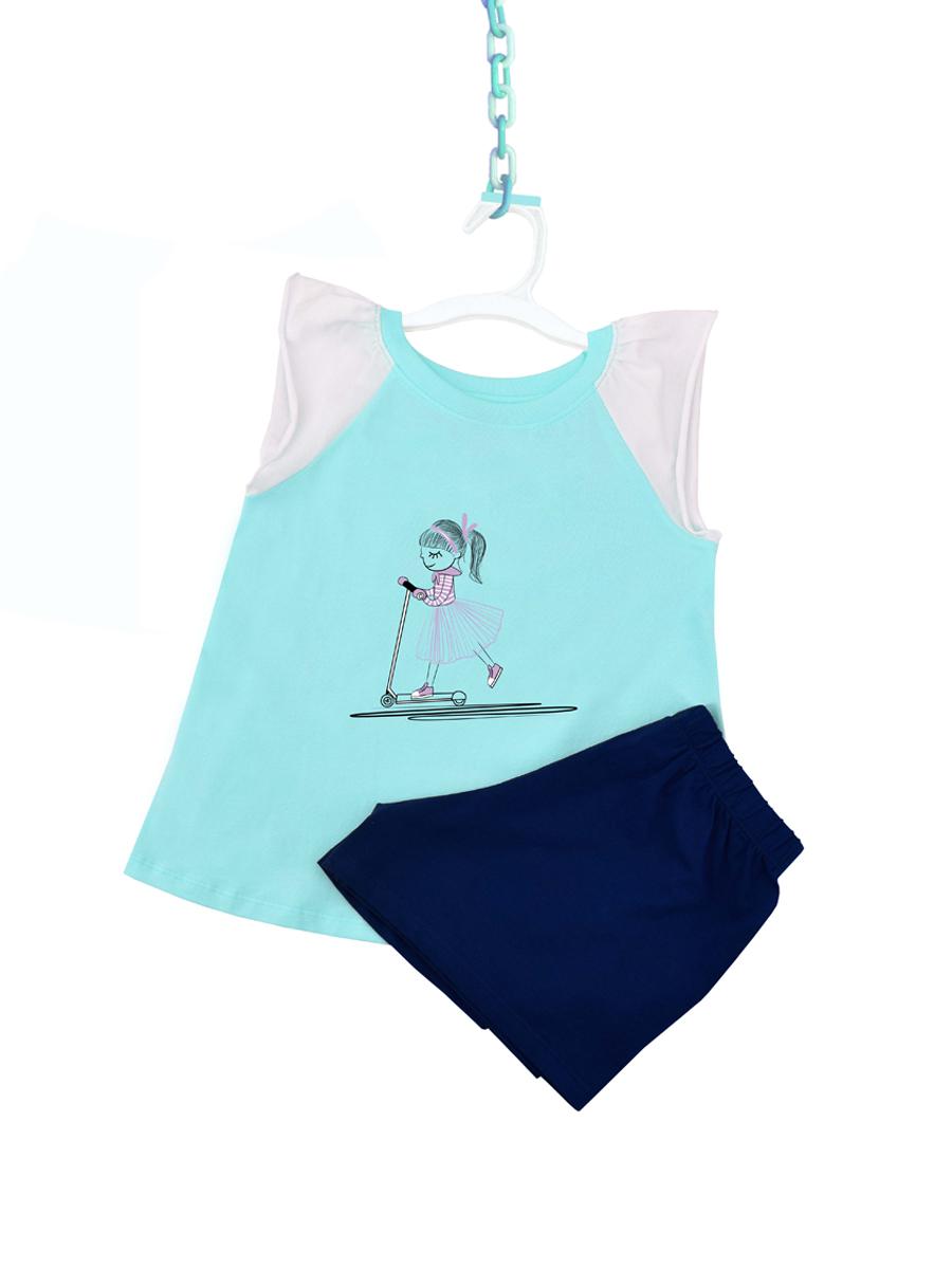 Bộ đồ mặc nhà bé gái ARDILLA chất liệu Cotton thoáng mát dễ thương K92GSS20