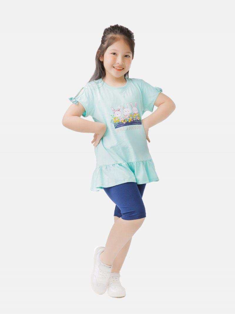 Áo phông bé gái K93GSS20